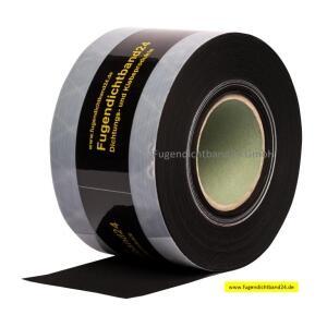 Multiband 74mm breit von 2,5mm bis 9mm schalgregensicher 9,4m Rolle schwarz
