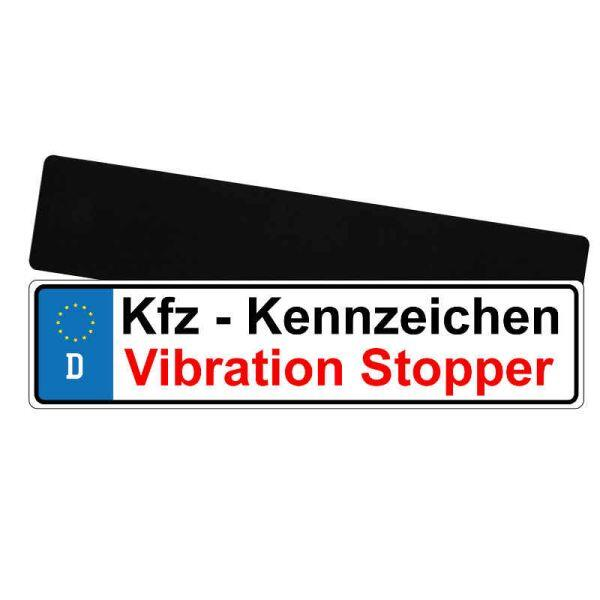 Auto-Nummernschild Anti Vibrations Unterlage